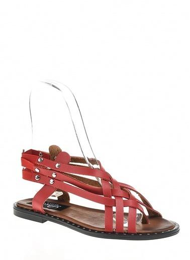 Derigo Sandalet Kırmızı